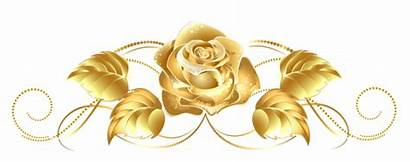 Gold Clipart Yellow Flowers Floral Rose Clipground