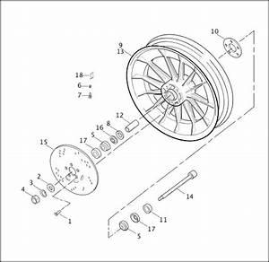Wiring Diagram  6 Harley Rear Wheel Assembly Diagram