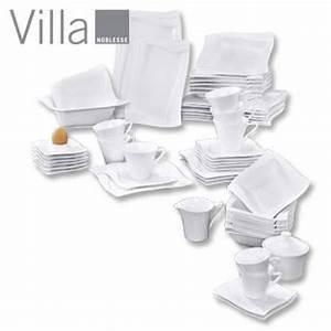 Geschirr Villa Noblesse : villa porzellan serie demetria kaffee set von real ansehen ~ Markanthonyermac.com Haus und Dekorationen