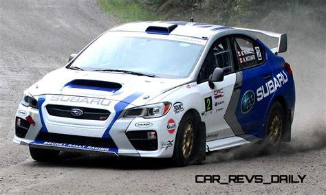 subaru rally 2015 subaru wrx sti rally racecars