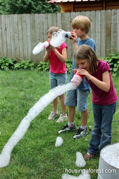 bubble snakes fun family crafts
