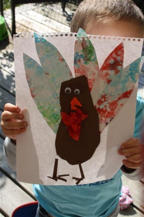 footprint turkey craft  kids happy hooligans
