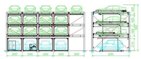 4 Levels Puzzle Type(vertical-horizontal) Automatic Car
