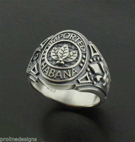 Tobacco Leaves Imported Habana Mens Ring In Sterling. Creative Rings. 0.40 Carat Engagement Rings. April Birthstone Wedding Rings. Titanium Nitride Engagement Rings. James Avery Wedding Rings. Pink Purple Wedding Rings. Gucci Lion Rings. Kayser Fleischer Ring Rings
