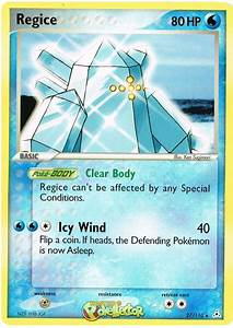 Regice - EX Holon Phantoms #27 Pokemon Card