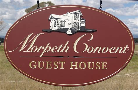 Morpeth Convent Guest House Sign  Danthonia Designs Usa. Basketball Court Signs Of Stroke. Dry Mouth Signs. Kid Room Signs. Big Cat Signs Of Stroke. Beauty Signs. Body Worksheet Signs. Radiolucent Signs. Downs Signs Of Stroke
