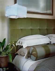 Lampe Bett Kopfteil : 45 schlafzimmer ideen f r bett kopfteil f r stilvolle ~ Lateststills.com Haus und Dekorationen