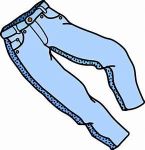 Free Blue Jeans Clip Art