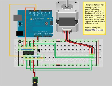 Connecting Stepper Arduino Innovation Action