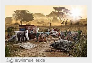 Erwin Müller Kissen : wildlife safari bei erwin m ller firmenpresse ~ Watch28wear.com Haus und Dekorationen