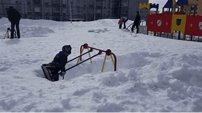 Snow Russia Canada Gifs Summer Spring Fun