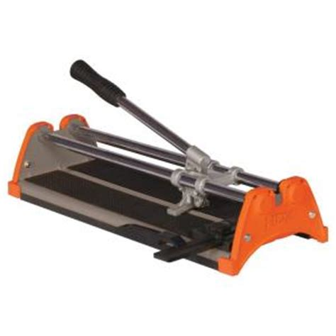 home depot tile saws hdx 14 in rip ceramic tile cutter 10214x the home depot