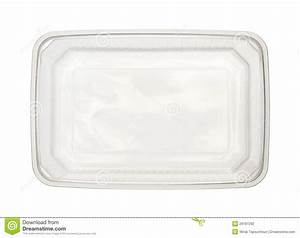 Plastic food box stock photo. Image of garbage, isolated ...