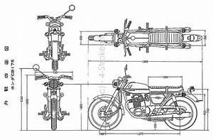 Honda Cb175 Dimensions