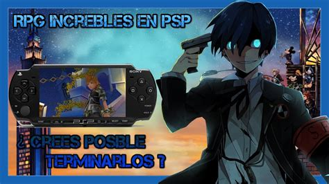 Rpg psp español / top 10 best psp rpg games of all time latest collection 2021 techiglu : Los mejores RPG para PSP - YouTube