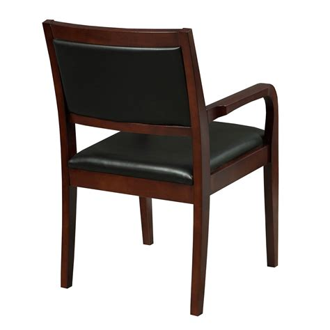 caspian by gosit new executive wood guest chair cherry