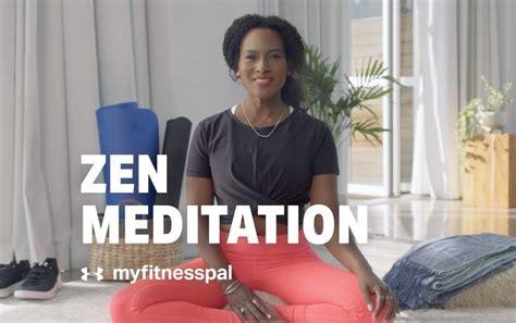 meditation myfitnesspal zen breath symbols