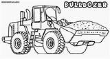 Bulldozer Coloring Pages Colouring Template sketch template