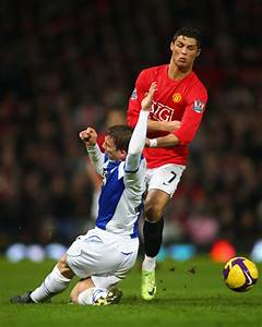 Cristiano Ronaldo in Manchester United v Blackburn Rovers ...