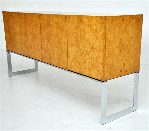 Wood Sideboards For Sale by Milo Baughman Burl Wood Sideboard For Sale At 1stdibs