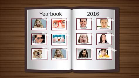 free yearbook templates yearbook prezi presentation creatoz collection