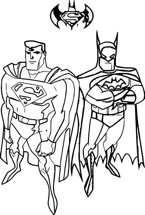 batman  superman valentine coloring pages print coloring