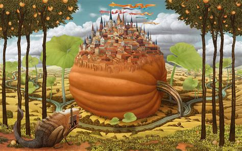 mind blowing oil paintings  jacek yerka dream world