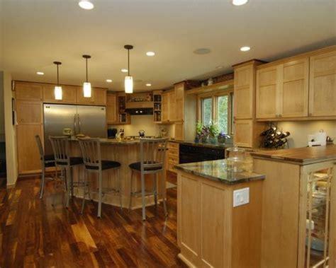 Maple Cabinet Dark Floor   Houzz