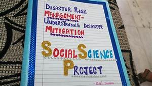 Disaster Management project social science Mitigation