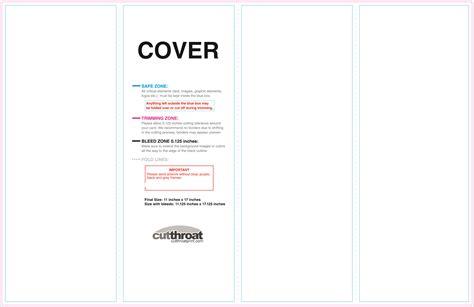 Double Parallel Fold Brochure Template Costumepartyrun