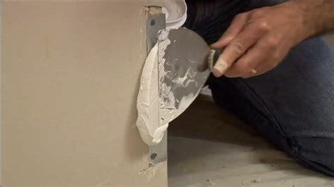 repair damaged drywall corners todays homeowner