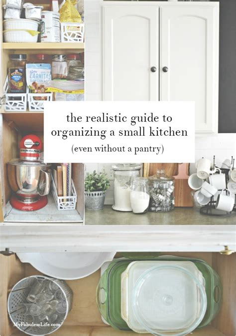 ways to organize a small kitchen realistic ways to organize a small kitchen without a pantry 9606