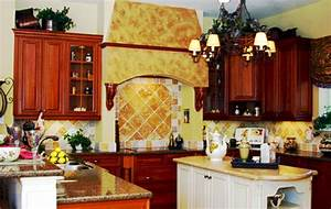 tuscan italian kitchen decor decoredo With kitchen colors with white cabinets with tuscany wall art
