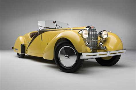 Stunning 1935 Bugatti Type 57 Grand Raid Roadster Headed