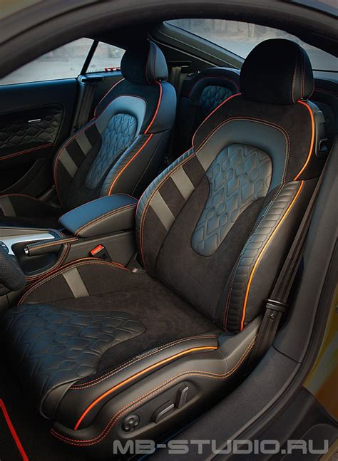 Upholstery On Cars by интерьер Audi Tt версия Exclusive Salon для Audi от Mbs