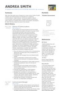 communications director resume exle director of communications resume sles visualcv resume sles database