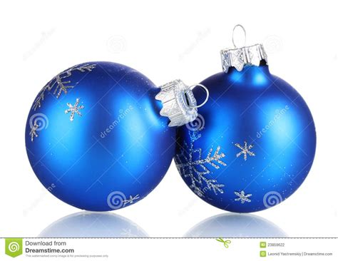 blue christmas balls stock photography image 23859622
