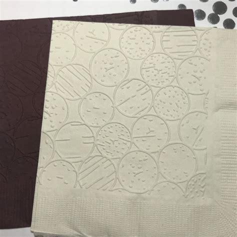 cork napkins embossed paper napkin bar napkins wine etsy