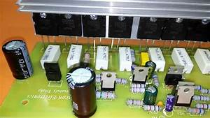 How To Repair Transistor Amplifier  2sc5200 And 2sa1943