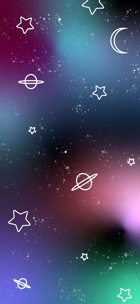outer space galaxy iphone wallpapers and