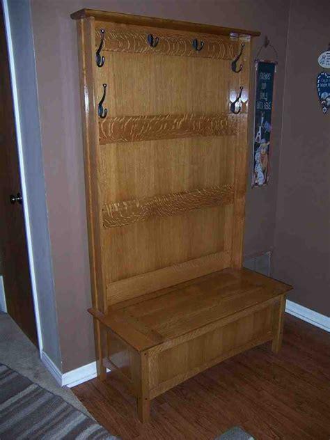 hall tree  storage bench home furniture design