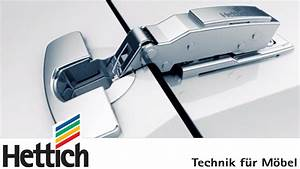 Scharniere Mit Dämpfung : sensys m belscharniere mit integrierter d mpfung von hettich youtube ~ Watch28wear.com Haus und Dekorationen