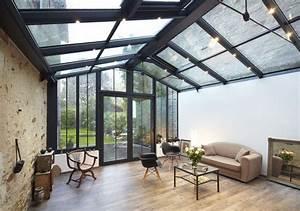 Veranda Style Atelier : pourquoi choisir une v randa en alu bienchezmoi ~ Melissatoandfro.com Idées de Décoration