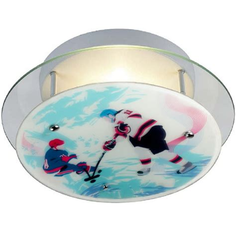 hockey sports ceiling light by firefly lighting