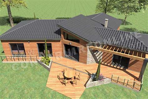 plans maisons plain pied 3 chambres application plan de maison top perspective plan de