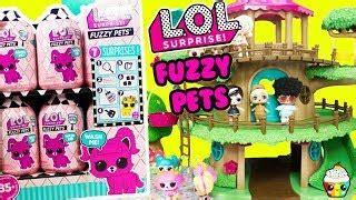 lol surprise fuzzy pets wave  pet shop grooming