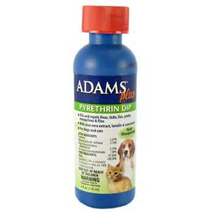 plus pyrethrin dip flea tick dip for dogs