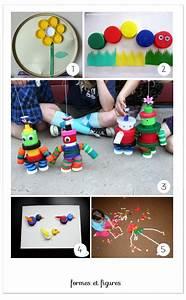 Loisirs Créatifs Enfants : id es quelques activit s faire avec des bouchons ~ Melissatoandfro.com Idées de Décoration