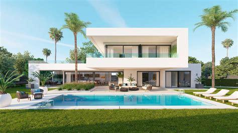 florida house plans with pool los olivos nueva andalucia marbella modern villa