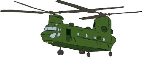 Army Chopper Chinook Clip Art at Clker.com - vector clip ...